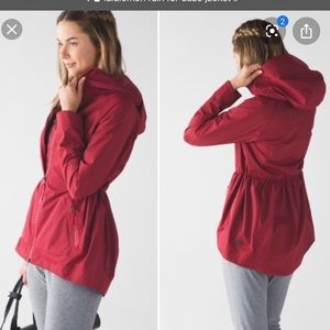 LULULEMON RAIN FOR DAZE JACKET
